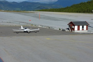 Sogndal, Norway, OK LEX at the apron