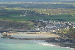 Port-en-Bessin, the fuel pipe from England ended here