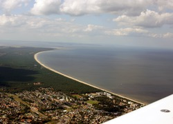 The beaches of Usedom island