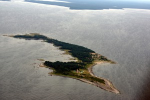 The first island of the Estonian coast - Mohni