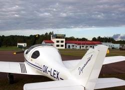 The airport of Kardla - two flights per day arrive here from the capital Tallinn