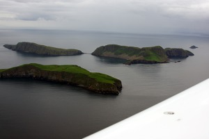 Shiant islets, south of Stornoway, Lewis and Harris island, Outer Hebrides.