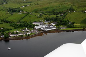 Whisky distillery, Talisker, Isle of Skye