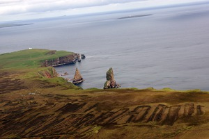 Interesting rocks at Duncansby, Scotland, UK