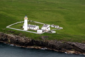 Cangick Head lighthouse, southern part of Scapa Flow