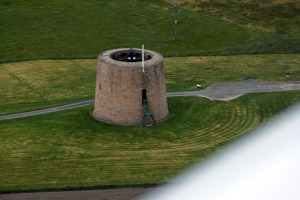 Martello tower was a part of British fortifications ofScapa Flow built in the 19th century