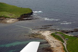 The Brough of Birsay – the path is only pasable during low tide