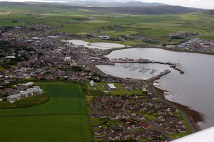 The capital of Orkney Islands– Kirkwall