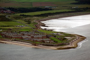 Fort George fortress, north-east of Inverness