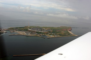 View of Hauptinsel, Helgoland archipelageo, Germany