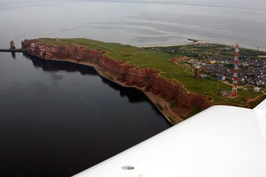 Cliffs at Hauptinsel, Helgoland