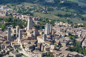 San Gimignano - the tower town, Tuscany, Italy