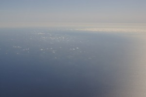 The Mediterranean sea between Sardinia and Menorca