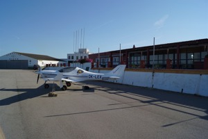 Morning at Mahon airport