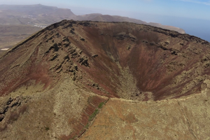 Extinct volcano - northwest Lanzarote