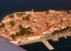 Town of Poreč - west coast of Istria, Slovenia