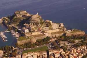 Old town and fortress of Corfu