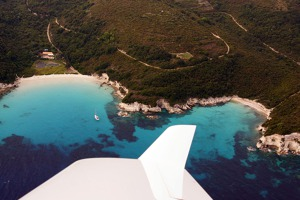 Lagunes of the eastern coast of Paxos island, Ionian Islands