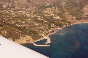 Southern tip of Cephalonia island