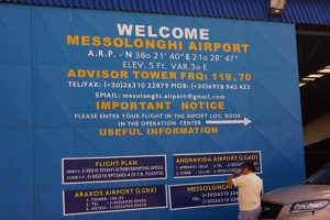 Messolnghi airport details