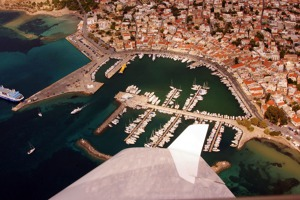 Port of Aegina island, Argosaronic islands, Greece