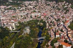 Veliko Tarnovo, historical town which used to be the capital of Bulgaria